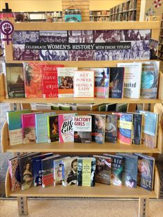 March display: Women's History Month