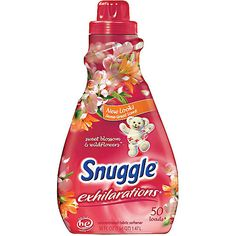 Snuggle Exhilarations Liquid Fabric Softener, Sweet Blossom & Pomegranate,  - second choice in scents