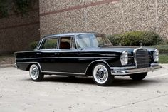 1960 Mercedes Benz 220S Fintail
