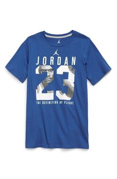 9748d664a Nike  Jordan Definition of Flight  Graphic T-Shirt (Big Boys) Big