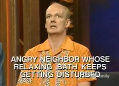 Whose Line! Haha totally me when trying to read a book in the bathtub!