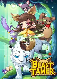 spadow:  Beast Tamer, Child of the Forest An exclusive class coming soon to JapanMS.