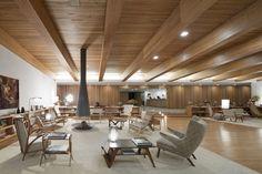 Love the mid-century/scandanavial style furniture. Amazing Hotel. Fasano Boa Vista Hotel by Isay Weinfeld, Porto Feliz – Brazil