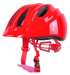 red color with patent adjuster kid bicycle helmet