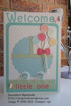 Baby card, Owl Occasions
