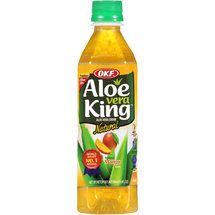 OKF Aloe Vera King Natural Mango Aloe Vera Drink, 16.9 fl oz