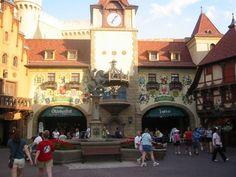 Germany Pavilion at Epcot Center, Walt Disney World, FL - 1989 Epcot Florida, Florida Trips, Florida 2017, Visit Florida, Florida Travel, Orlando Florida, Us Travel, Places To Travel, Carmel Corn