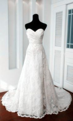 White Ivory  wedding dress bridal gown long wedding por sunpeng2011, $189.00