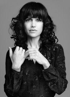 Carla Gugino (1971) - American actress. Photo by Marco Grob