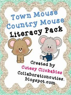 town mouse country mouse activities - Google Search