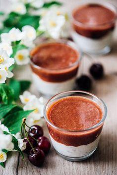 Neodolateľne dobré raňajky aj desiata: Čerešňový chia puding - Fitshaker