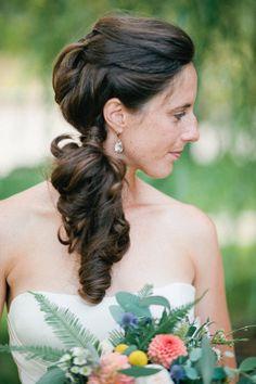 "gorgeous. the little ""hidden"" braid just makes it."