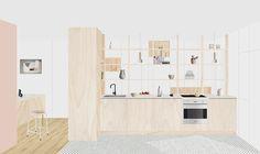 Heju – studio d'architecture parisien » APPARTEMENT DAMRÉMONT