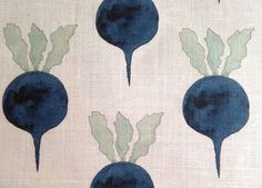 Sarah Nicholas Williams started Radish Moon Hand-illustrated ink and watercolor designs printed on Belgian linen. Dry clean only. Printed in USA.