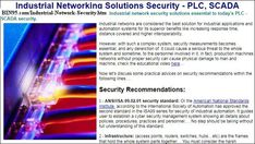 Industrial Networking Solutions Security - PLC, SCADA article by Business Industrial Network training author. Industrial network security solutions essential to today's PLC - SCADA security. Industrial Safety, Complex Systems, Community Boards, Security Solutions, Cloud, Author, Training, Business, Writers