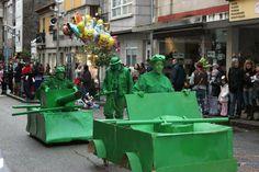 Disfraz soldadito de goma verde. Green army #disfraz #costume #carnaval #carnival #greenarmy #grupo #group