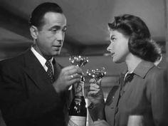 casablanca movie | Casablanca (1942): AFI 100 Days 100 Movies #3 Humphrey Bogart, Bogart And Bacall, Casablanca Movie, Casablanca 1942, Ingrid Bergman, Old Movies, Great Movies, Rick Blaine, Lust