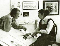 """앨리스 & 마틴 프로벤슨 (1917- , 1916-87)  """"우리는 진정한 협력자예요. 서로가 하나인 예술가이죠"""""""