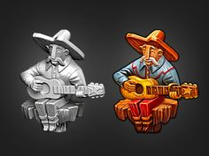 Dribbble - Travelin' Bill by Victor Soto