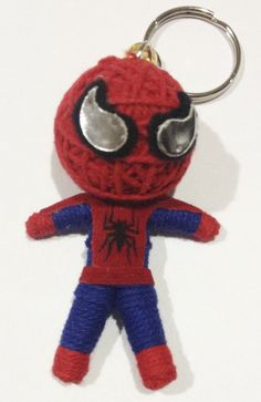 COMIC SUPERHERO SPIDER-MAN  STRING VOODOO KEYRING PARTY BAG
