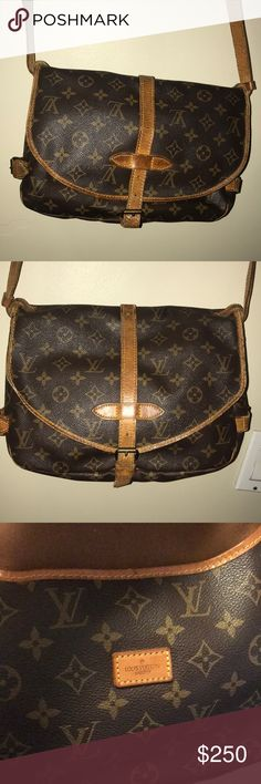 c1e24fbcb81 VINTAGE Louis Vuitton Samur 30 Poshed last year, only have used a handful  of times