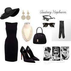 Audrey Hepburn, created by beti-copetti on Polyvore