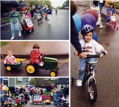 Birthday Party Parade! Love the idea by Cathe Holden