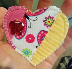 I found this adorable quilted heart while gardening at my home in Amador City, CA. This simple sweet act totally brightened my day! What a great movement!! #IFAQH  #ifoundaquiltedheart