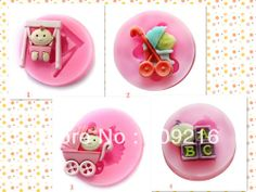 Aliexpress.com : Buy Free shipping !!!4pcs/set  Mini New Style Babys Silicone Handmade Fondant/Cake Decorating DIY Mold from Reliable Silicone Fondant Mold suppliers on Silicone DIY Mold and  Home Supplies Store $15.12