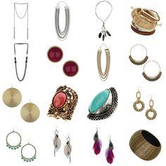 70's inspired jewelry