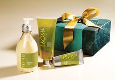 Presente Natura Ekos Maracujá - Desodorante Hidratante Corporal + Sabonete Líquido Esfoliante + Polpa Hidratante + Embalagem