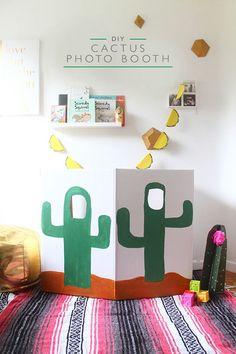 This DIY cactus phot