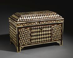 A Mother-of-Pearl and Tortoiseshell Calligrapher's Cabinet, Turkey, 17th Century | lot | Sotheby's