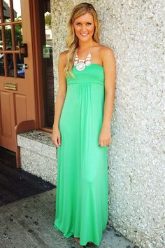 """Share to save 10% off your order with code """"MEAGANREP"""" at checkout! FREE/FAST shipping.    Laguna Beach Maxi Dress: Seafoam"""