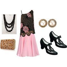 Vintage Fashion, created by nunertuner on Polyvore