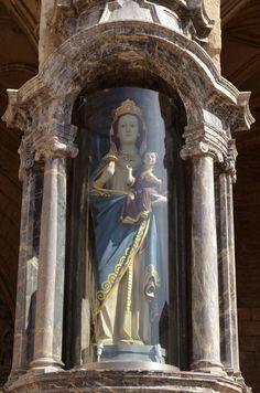Imatges de Maria: Església de Sant Miquel de Vitòria (Euskadi)