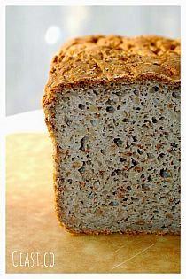 Chleb gryczany (bezglutenowy) Gluten Free Recipes, Bread Recipes, My Favorite Food, Favorite Recipes, Healthy Candy, Sandwich Cake, Polish Recipes, Recipes From Heaven, Vegan Foods