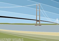 'Humber Bridge' - This iconic structure has been in my life since childhood and still impresses me to this day.