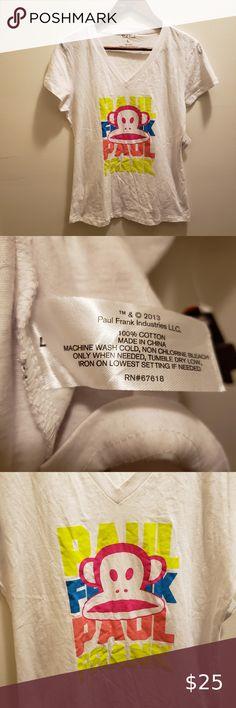 Monkey T Shirt, Paul Frank, Fitted Caps, White V Necks, Plus Fashion, Fashion Tips, Fashion Trends, Cap Sleeves, Neon