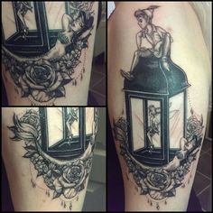 Photo via Instagram user ali_baugh_tattoo Diy Tattoo, Tatoo Art, Tattoo Ideas, Tattoo Tinkerbell, Tinkerbell Disney, Tattoo Mermaid, Neue Tattoos, Body Art Tattoos, Trendy Tattoos