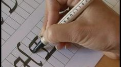 50 free calligraphy lessons. Calligraphy by Kimberly Walker