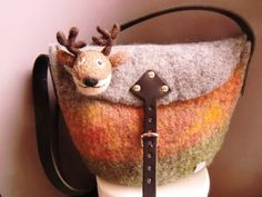Felted bag by Filz-Woll-Lust
