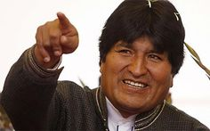 """Bolivian President Evo Morales lambasts Israel over military offensive in Gaza and tears up a long-standing free entry agreement with the countryBolivian President Evo Morales declared Israel a """"terrorist state"""" Wednesday"""