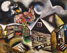 Marc Chagall, Rain (La Pluie), 1911