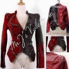 I want this sooooo BAD! Punk Studded Harley Quinn jacket cosplay by MrJsValentine on Etsy Harley Quinn Halloween Costume, Harley Quinn Cosplay, Joker And Harley Quinn, Knight Halloween, Halloween Costumes, Purple Halloween, Harely Quinn, Dark Knight, Cool Outfits