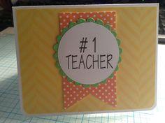 Tarjeta para el día del maestro