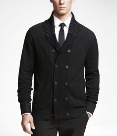 DOUBLE BREASTED COTTON CARDIGAN…i want!!!!!!