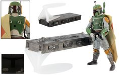 Boba Fett and Han Solo in Carbonite (SDCC 2013) (Hasbro - Star Wars The Black Series Six Inch Exclusive) - JediTempleArchives.com