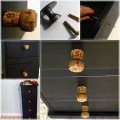 Самодельные ручки на замену морально или физически устаревшей мебельной фурнитуре