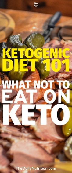 Trying to figure out what you can and can't eat on keto? Here are the foods that you need to stay away from to succeed on the ketogenic diet. Diet Ketogenic Diet: What Not to Eat on Keto Ketogenic Diet For Beginners, Keto Diet For Beginners, Ketogenic Recipes, Diet Recipes, Egg Recipes, Lunch Recipes, Diet Tips, Chicken Recipes, Dessert Recipes